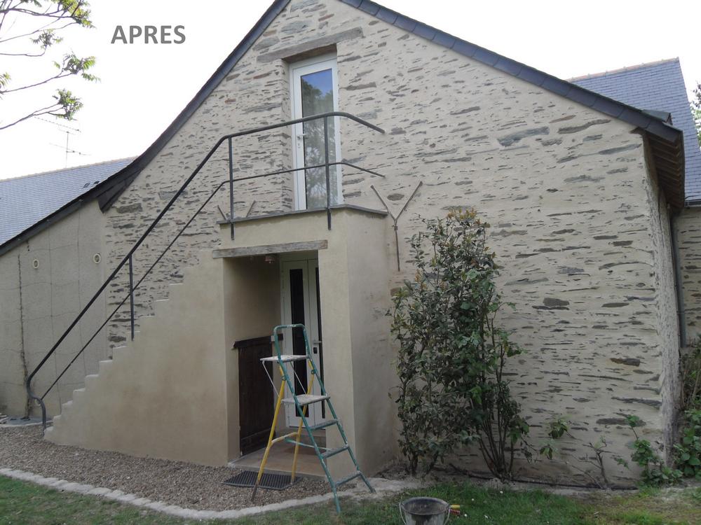 Rénovation de maison en pierre près de St Germain des Prés