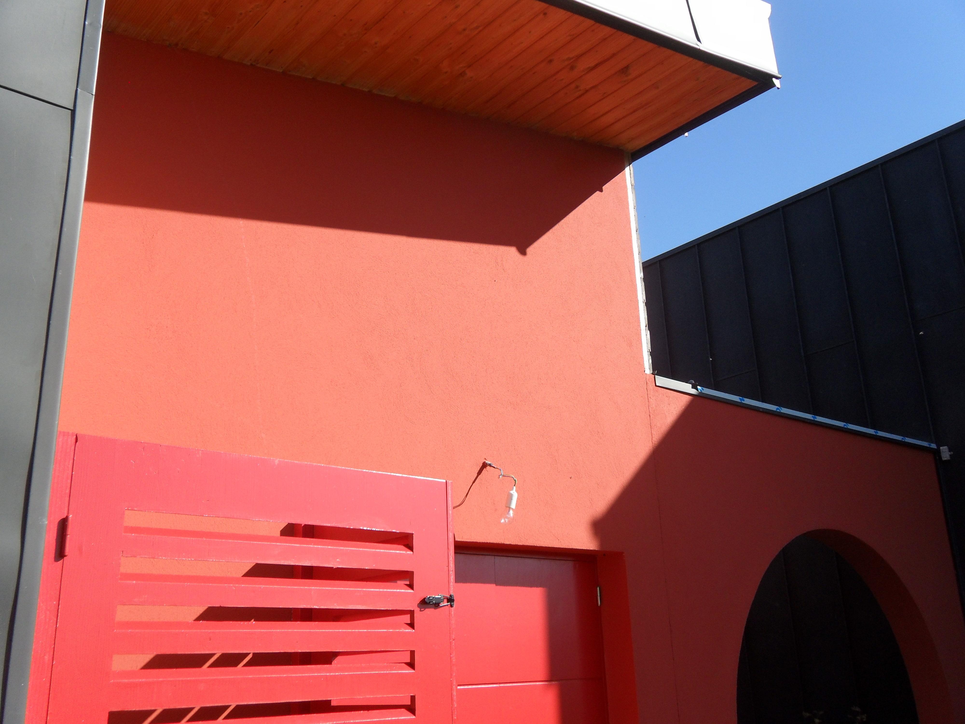 Ravalement et pose d'enduit décoratif de façade